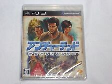 NEW JAPANESE Uncharted 2 Among Thieves Playstation 3 Game SEALED PS3 Japan