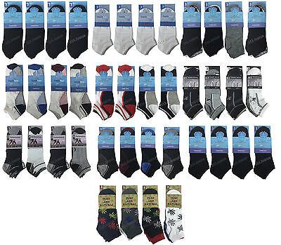 3/6/12 Pares Para Hombre Entrenador Forro calcetines de tobillo Algodón Calcetines Para Hombre Lote Tamaño 6-11