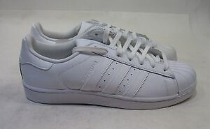 best sneakers 1c60d 752b0 Image is loading Adidas-Superstar-Foundation-Mens-B27136-White-Leather-Shell -