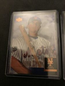 2001-Upper-Deck-DAVID-WRIGHT-ICONIC-ROOKIE-LOT-OF-2-NEW-YORK-METS-FREE-SHIPPING