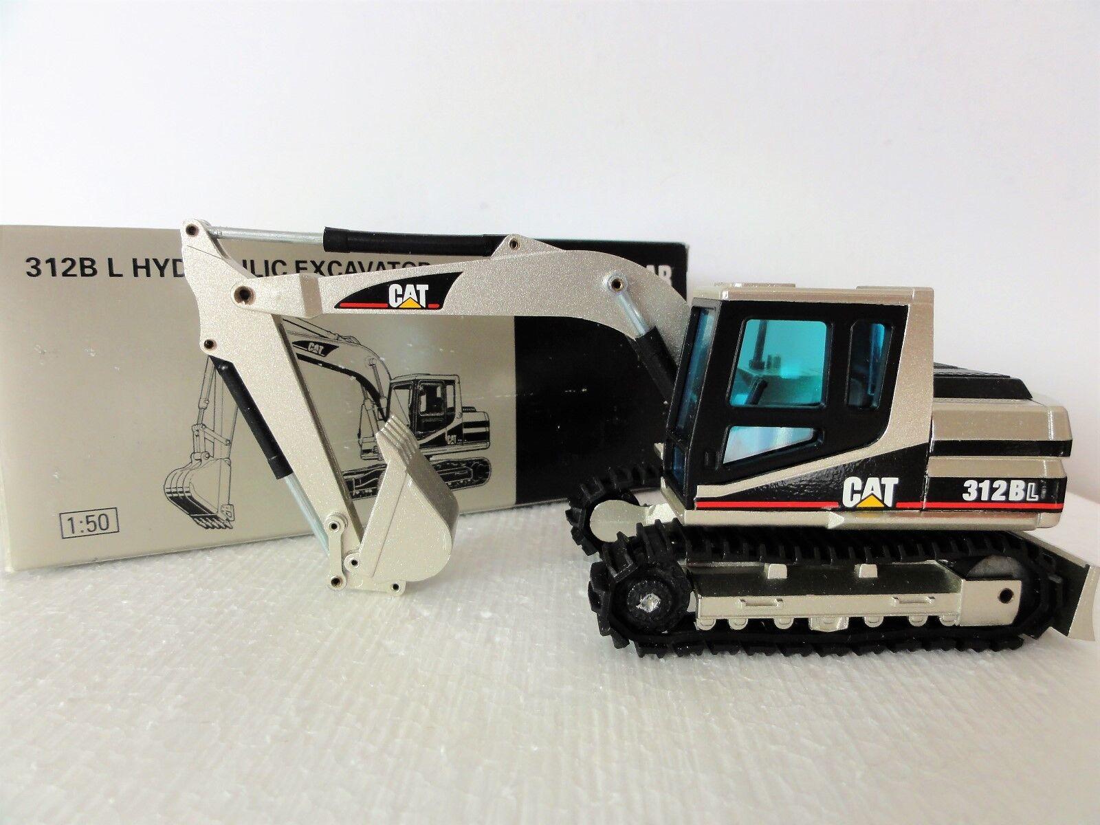 NZG 414-03 -Caterpillar 312B L EXCAVATOR PALE oro -1 50  NEW IN BOX  RARE