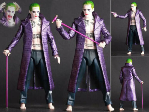 The Joker Crazy Toy Suicide Squad DC Comics Action Figurine No Box