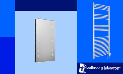 10% off Electric Towel Rails & Mirrors