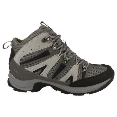 Hi Tec /'Condor WP/' Men/'s Black//Grey//Red Lace Up WATERPROOF Walking Boots
