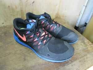 timeless design e8f18 0a8f0 Details about Nike Free 5.0 Retro Colored Running Shoes 642198-002 Mens  Size 13 **Low Price**