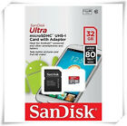 SanDisk 32GB 64GB microSD SDHC Class 10 U1 48MB/s Flash Memory SD Card