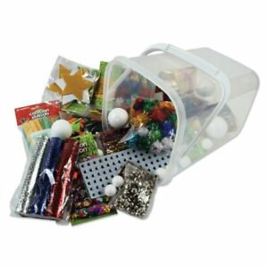 Creation-Station-Bumper-Bucket-of-Christmas-Crafts-Pack-of-Assortment