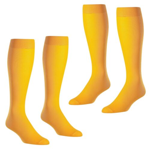 2-Pair of TCK Twin City Baseball Football Sports Tube Socks Gold NEW  /_312-06x2