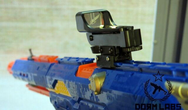 Nerf Zombie Strike Doominator Blaster - Bonus with 50 Darts & Scope