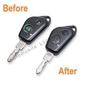 For Peugeot 406 106 1 / 2 Button Remote Key Fob Repair Service Fix