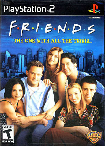 1 of 1 - Friends: The One With All The Trivia for Sony PlayStation 2 case replacement