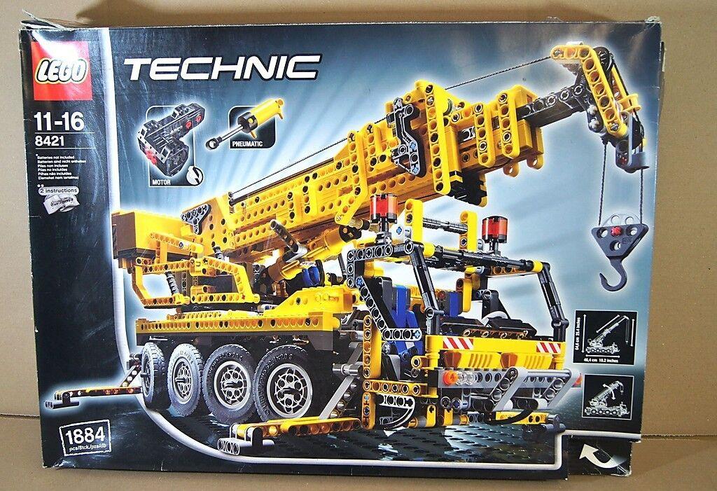 LEGO 8421 TECHNIC MOTORIZED MOBILE CRANE SET BOXED mv