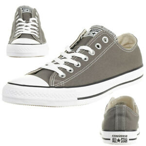 Details about Converse Ctas Ox Chuck Shoes Trainers Canvas Riderock 164297C Grey