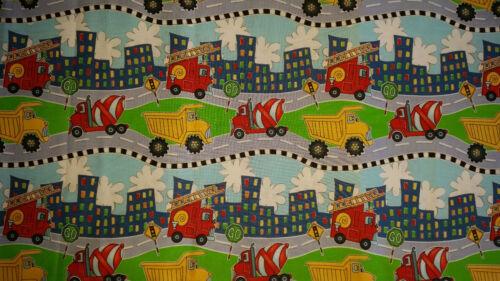 Brand New Truck Print Fabric