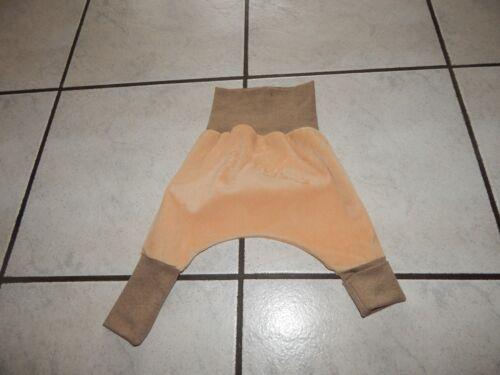 Pumphose  aus Nicki beige in verschiedenen Größen Mitwachshose