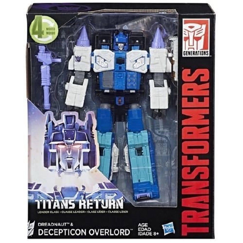 NEW Transformers Titans Return Leader Overlord Hasbro age 8+ WA94