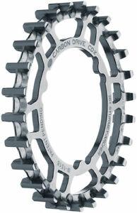 Gates Carbon Drive CDX Rear Sprocket for 3-Lobe SureFit™ Silver 26t