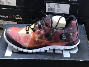 Détails sur Reebok Zpump Fusion Ag Homme Chaussures de Course Jogging Baskets Neuf V66743