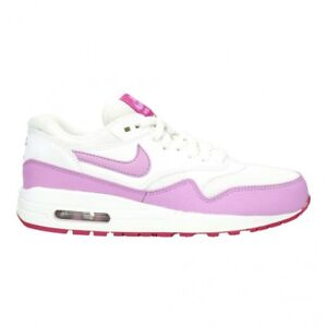 new styles aa27a ea9a3 Nike Air Max 1 Essential Women s Shoes SNEAKERS 599820-116 White ...