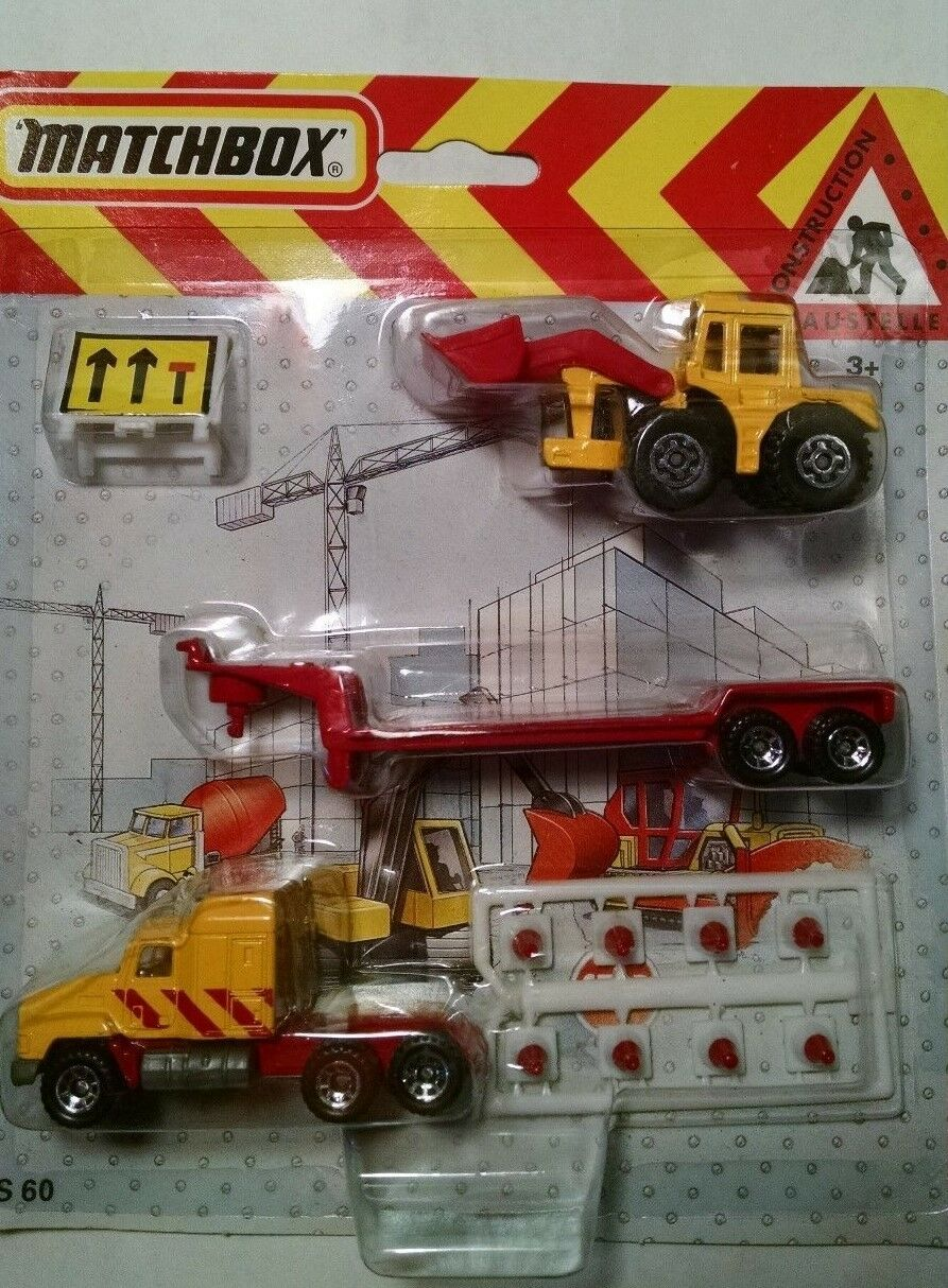 Matchbox  Foreign Issue CS60 Flat Bed and Shovel 1991  excellent prix