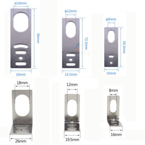 一 & L Forma Φ 8/12/18mm Soporte de montaje para el sensor de proximidad interruptor de hoja fija