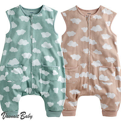 "Vaenait Babytoddler Boys Girls Clothes Soft Cotton Sleepsack ""zipup Cloud"" 1-7t"