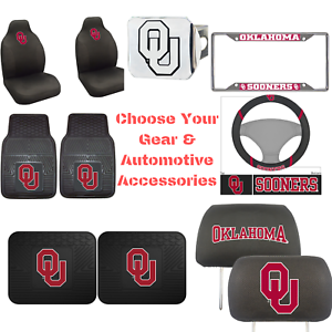 NCAA-Oklahoma-Sooners-Choose-Your-Gear-Auto-Accessories-Official-Licensed