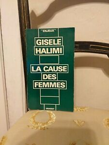 Gisele-Halimi-La-Cause-Des-Femmes-Grasset-1973-TBE