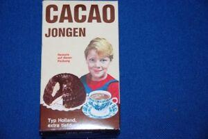 Cacao-Jongen-Type-Holland-8-8oz-Georg-Schmidt-Gmbh-Original-Vintage-Pack-Decor