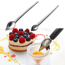 Cake Decorating Pen Pastry Cookie Icing Cream Chocolate Spoon Pencil Plate