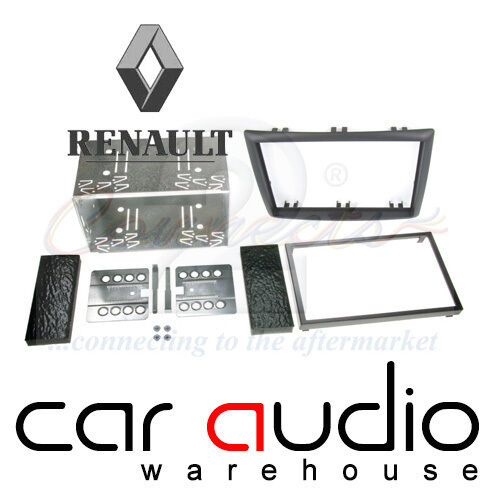 Renault Megane II 2006-2008 Car Stereo Double Din Facia Panel Cage Kit CT23RT03