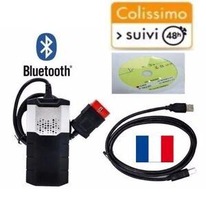 Interface De Diagnostique Auto Multimarque Pro Bluetooth Obd/ Obd Ii Les Clients D'Abord