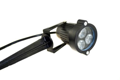 9W LED Spike Glühbirne Scheinwerfer Outdoor Garten Hof Pfad Teich Landschaft