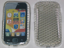 For Samsung Galaxy Gio S5660 Pattern Gel Case Protector Cover Clear New UK
