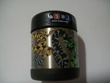 NWT 10oz SNAKES Insulated Stainless Steel Food Jar Thermos Funtainer BLACK