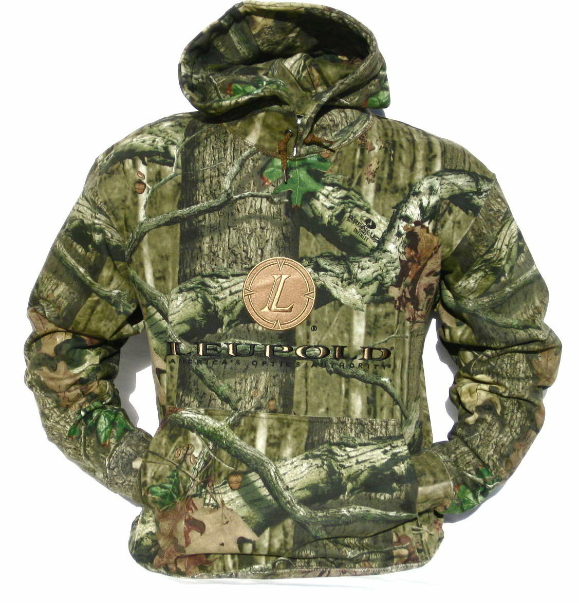 Cabela's  Men's Heavyweight MOSSY OAK INFINITY Leupold Layering Hunting Hoodie  cheap and top quality
