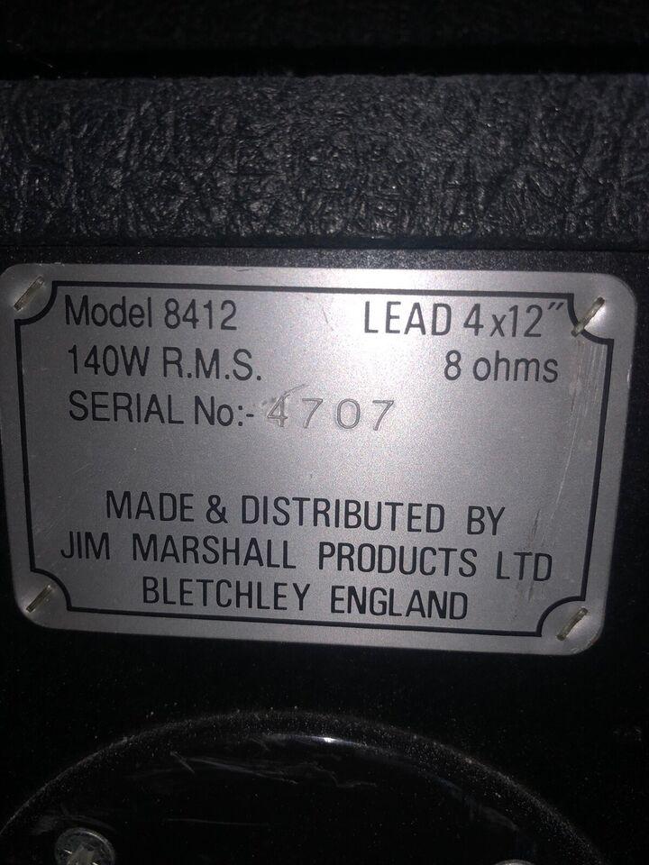 Guitaranlæg, Marshall JCM 2000 , 60 W