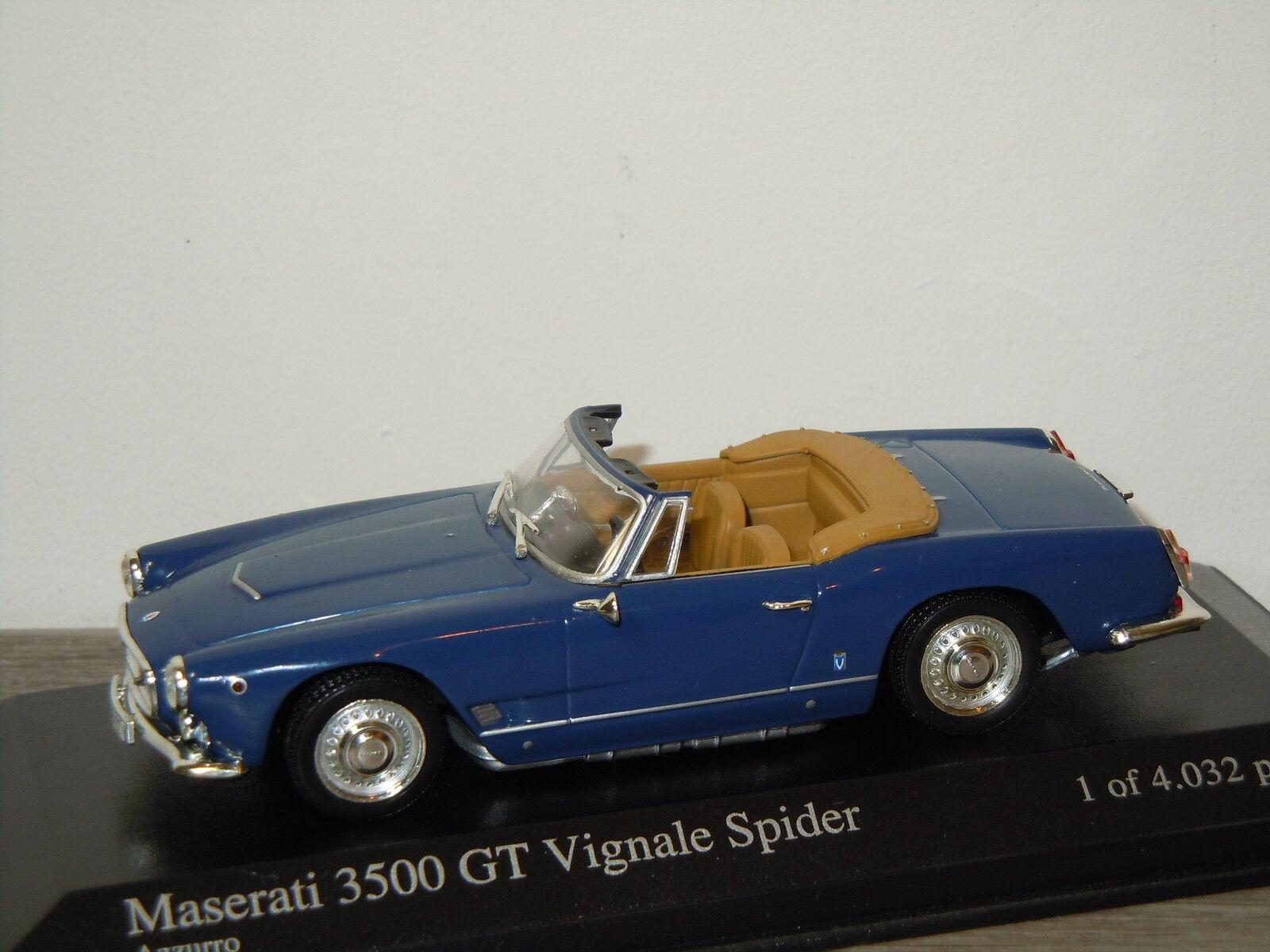 Maserati 3500GT Vignale Spider 1961 van Minichamps 1 43 in Box 24305