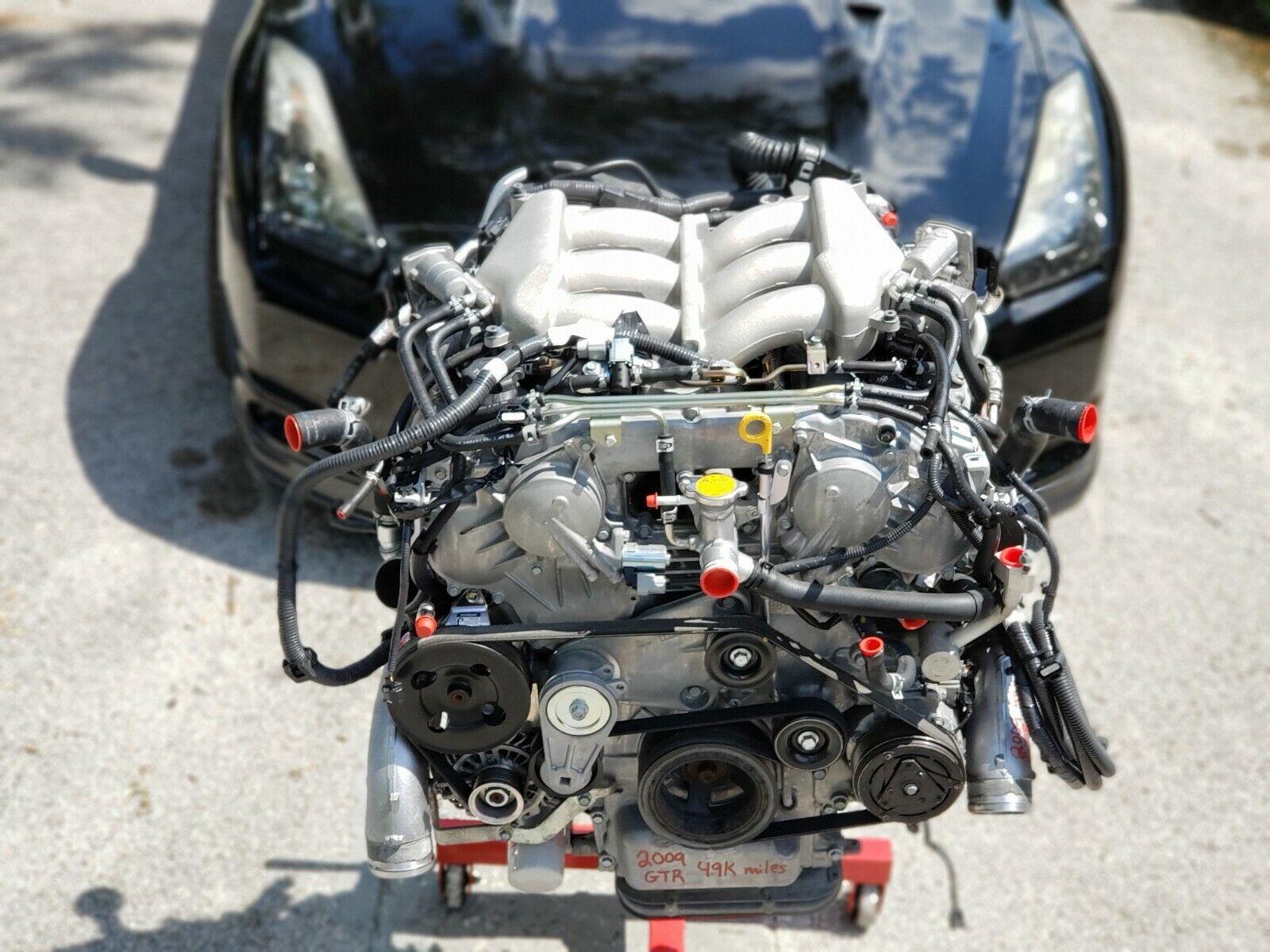 Engine Nissan Gt R Gtr R35 V6 Vr38 Vr38dett For Sale Online Ebay