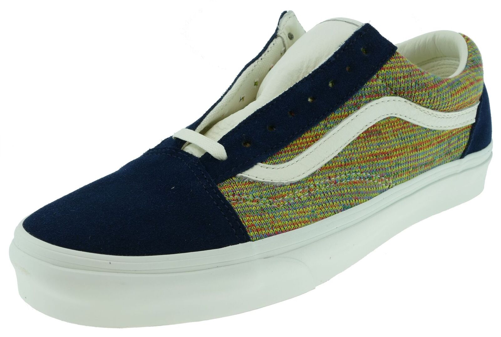 Vans OLD SKOOL  Classics premium knit dress bluees multi Gr.44