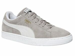 Details about Brand New Unisex PUMA Suede Classic Trainers Ash White UK  size 6.5