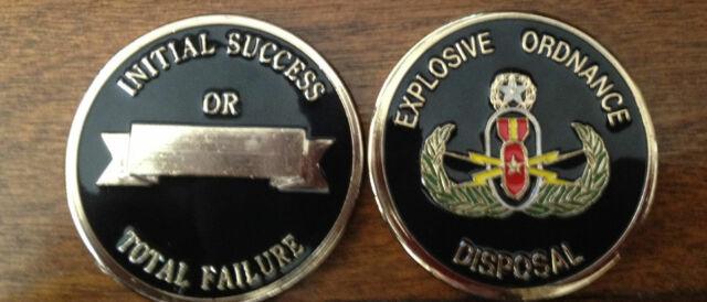 AUTHENTIC Luke AFB EOD Explosive Ordnance Disposal Arizona USAF Challenge Coin