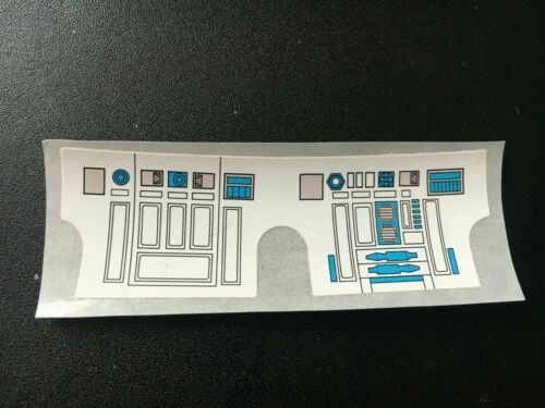 VINTAGE STAR WARS R2D2 REPRODUCTION//REPLICA STICKER ONLY