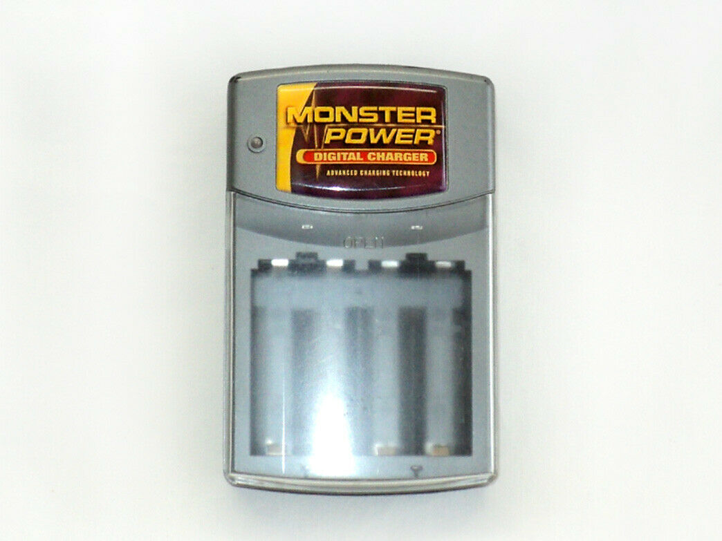 Classic Monster Ni-Cd Rechargeable AA and AAA Battery charger - Free Shipping