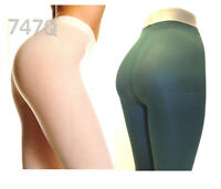 Music Legs 747 Plus Size Opaque Tights Pantyhose 1x Queen White Or Hunter Green