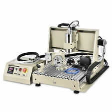 Usb 4 Axis Cnc 6040z Router Engraving Wood Drillmilling Machine 15kwremote