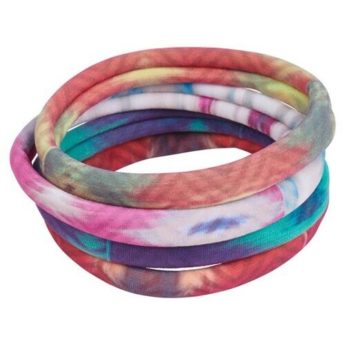Lot of 12 cards Bamboo Trading Company Hair Ties Pony tail holders