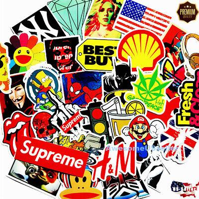 Stickers 100 Skateboard Laptop Decals Luggage Dope Sticker Random Christmas Gift