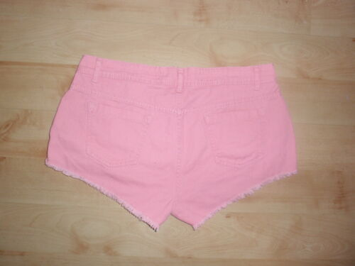 BNWT Primark pink ladies mini pink shorts holiday festival various sizes