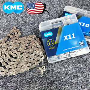 KMC-6-7-8-9-10-11Speed-Chain-1-2X3-32-034-11-128-034-MTB-Road-BMX-Bike-Cassette-Chains